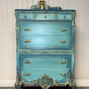 Patina Tallboy Dresser
